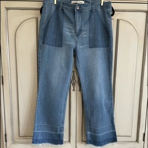 Sheryl Crow cropped jeans